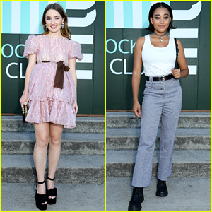 Kaitlyn Dever & Amandla Stenberg Join More Stars at Miu Miu Show