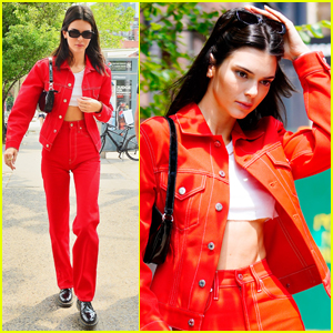 Kendall Jenner Steps Out for Lunch with a Friend in NYC