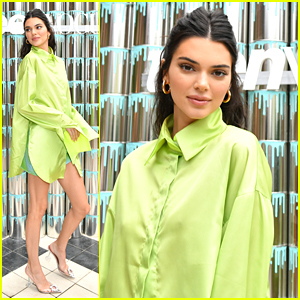 Kendall Jenner Promotes Acne Positivity At Paint Positivity Event With Proactiv