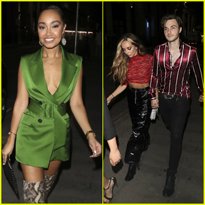 Leigh-Anne Pinnock & Jade Thirlwall Celebrate a Friend's Birthday in London!