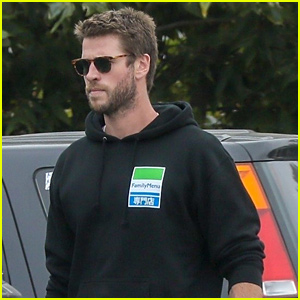 Liam Hemsworth Keeps It Cool for Family Day in Malibu