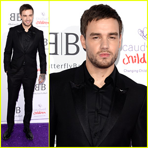 Liam Payne Suits Up Sharp For Caudwell Children's Butterfly Ball 2019