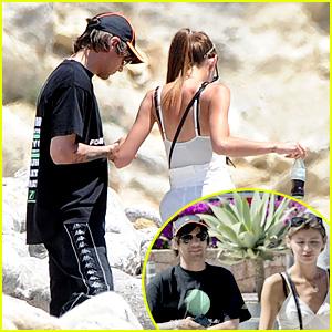 Louis Tomlinson & Eleanor Calder Go Adventuring In Ibiza