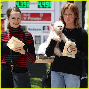 'Merry Happy Whatever' Co-Stars Bridgit Mendler & Ashley Tisdale Take Break From Filming To Celebrate National Donut Day