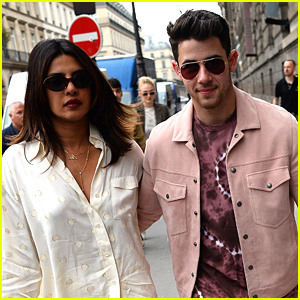 Nick Jonas & Priyanka Chopra Step Out For Parisian Dinner