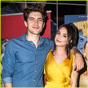 Niki Koss & Carter Jenkins Have Mini 'Famous In Love' Reunion at 'Burying Yasmeen' Premiere