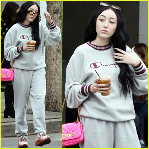 Noah Cyrus Shows Her 'SADitude' While Getting Coffee