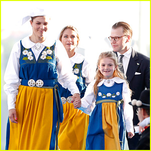 Princess Estelle Celebrates Sweden's National Day with Royal Family