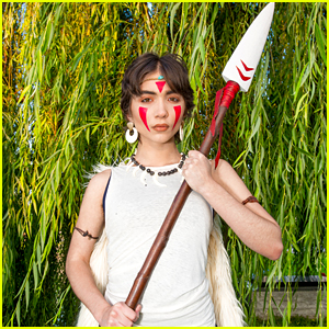 Rowan Blanchard Becomes Princess Mononoke at Cinespia's Screening