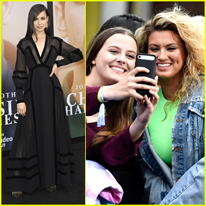 Sofia Carson & Tori Kelly Head Straight For the Fans at the Jonas Brothers' 'Chasing Happiness' Documentary Premiere