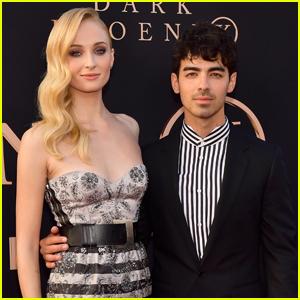 Sophie Turner & Joe Jonas Couple Up for 'Dark Phoenix' Premiere!
