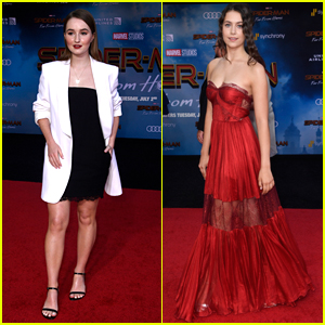 Kaitlyn Dever & Emma Fuhrmann Step Out for the 'Spider-Man: Far From Home' Premiere