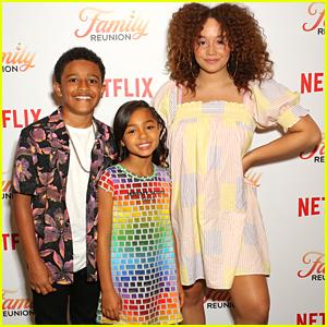 Talia Jackson Premieres New Netflix Series 'Family Reunion'