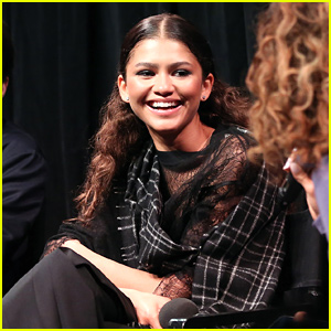 Zendaya's Gets Emotional Watching Director Sam Levinson Talk About 'Euphoria'