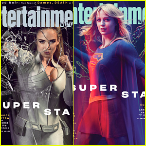 Caity Lotz Punches Through Glass On EW's Special Arrowverse Cover - See Them All!