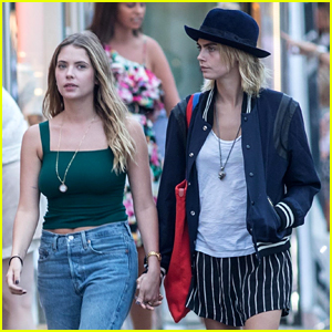 These Ashley Benson & Cara Delevingne Photos Are Sparking Engagement Rumors