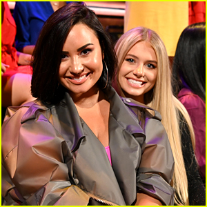 Demi Lovato Went to Both Nights of 'The Bachelorette' Finale Taping!