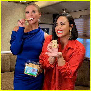 Demi Lovato Hangs Out with 'The Bachelorette' Hannah Brown at Finale Taping!