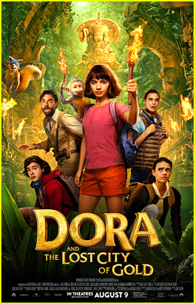 Isabela Moner Goes On an Epic Adventure in New 'Dora & The Lost City of Gold' Trailer - Watch!