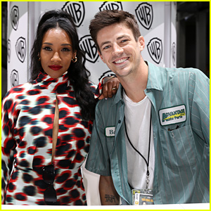 Candice Patton & Grant Gustin Don't Want You To Worry About Barry & Iris Splitting Up on 'The Flash'