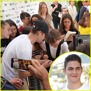 Hero Fiennes-Tiffin Meets Many Fans During Ischia Film Festival 2019