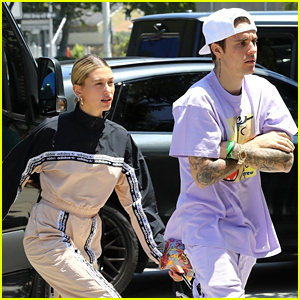 Hailey Bieber Joins Husband Justin for Saturday Morning Church