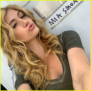 Katherine McNamara Kicks Off Filming for Arrow's Final Season!