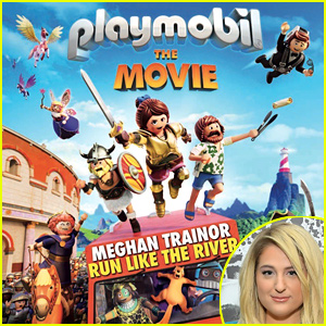Meghan Trainor Releases New Song 'Run Like The River' From 'Playmobil: The Movie'