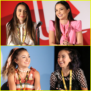 Veronica & Vanessa Merrell Join Brooklyn & Bailey For Twin-Filled Panel at VidCon!