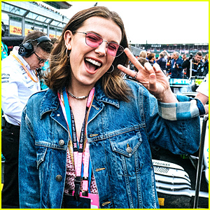 Millie Bobby Brown Had the 'Best Day' at the Formula 1 British Grand Prix