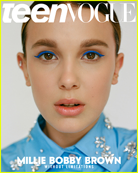 Millie Bobby Brown Dishes on Being Drawn To All Kinds of Causes With 'Teen Vogue' Magazine