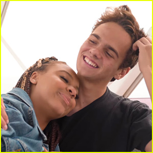 Nia Sioux & Jake Clark Hit The Pier For 'First Date Kinda Nervous' Music Video - Watch Now!