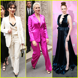 Rowan Blanchard, Pixie Lott & More Step Out For Paris Fashion Week