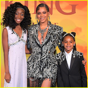 Shahadi Wright Joseph Finally Meets Beyonce at 'The Lion King' Premiere