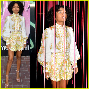 Yara Shahidi Heads to Comic-Con for Stan Lee's Audio Book!