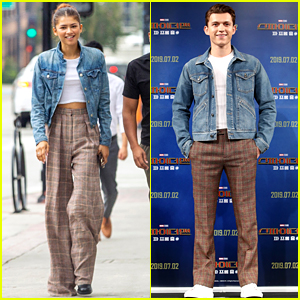 Zendaya's Style Today Was Totally Inspired by Tom Holland!