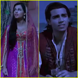 Naomi Scott & Mena Massoud Sing 'Desert Moon' In Cut Scene From 'Aladdin' - Watch Here!