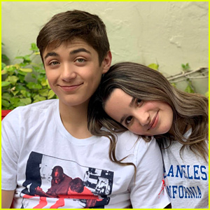 Asher Angel & Annie LeBlanc Watch 'Bachelor In Paradise' & Movies For Date Night In