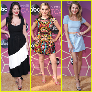 Auli'i Cravalho, Meg Donnelly & Anne Winters Look So Chic at ABC's TCA Party