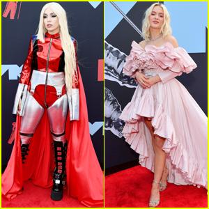Ava Max & Zara Larsson Show Their Style at VMAs 2019