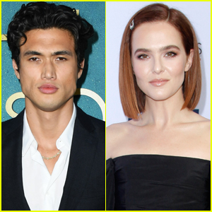 Charles Melton Explains How He Bit Zoey Deutch's Nail Off