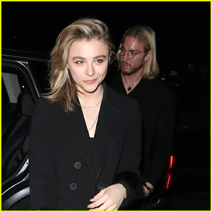 Chloe Moretz Dines Out At Annabel's After Getting Permanent Restraining Order For Stalker