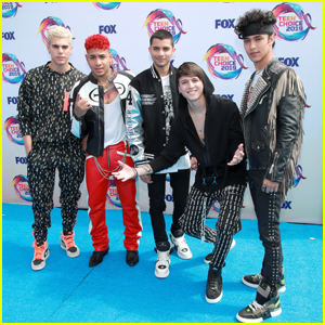 CNCO Represent Their Fans at Teen Choice Awards 2019!