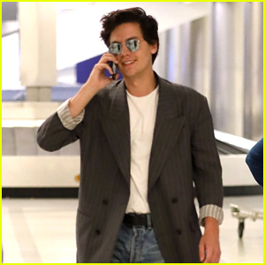 Cole Sprouse Flies to L.A. on His 27th Birthday