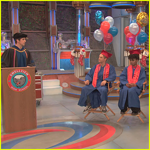 Cooper Barnes Tears Up During 'Henry Danger' Cast's Graduation Commencement Speech
