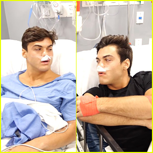 Ethan & Grayson Dolan Had Surgery To Correct Deviated Septums, Share Post Surgery Video