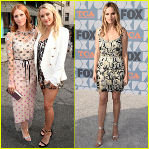 Emily Osment Steps Out For Fox's TCA All-Star Party With 'Almost Family' Co-Stars