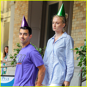 Joe Jonas Gets Festive at His Birthday Lunch with Wife Sophie Turner!
