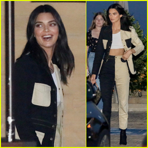 Kendall Jenner is All Smiles at Dinner with Caitlyn Jenner!