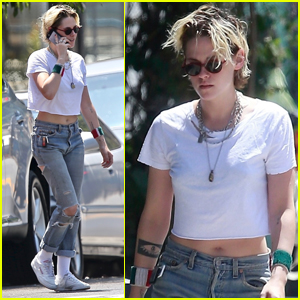 Kristen Stewart Meets Up with New Girlfriend Dylan Meyer in L.A.